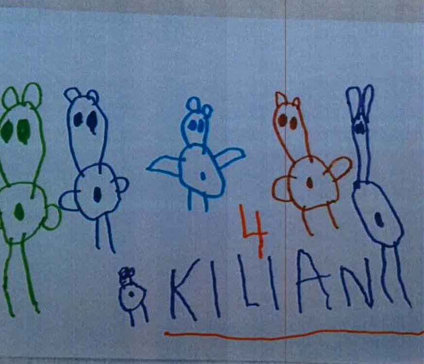 Kilian, 4 Jahre