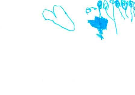 blaues Bild
