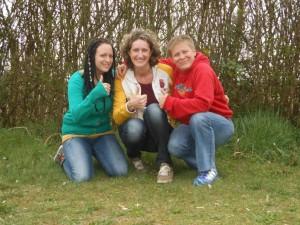 Daumen hoch! Sandra Peitli, Barbara Gruber und Nicola Stachl vom Y4U Jugendforum