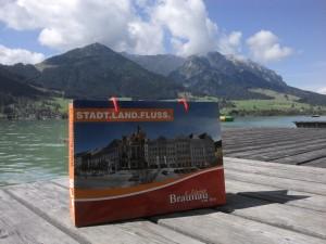Eine Tasche geht auf Reisen, Tourismus Braunau am Inn