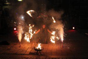 Braunau21 Stadtoase Feuershow