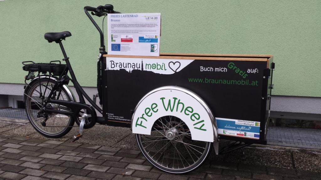 """Free Wheely"" – Freies Lastenrad Braunau"