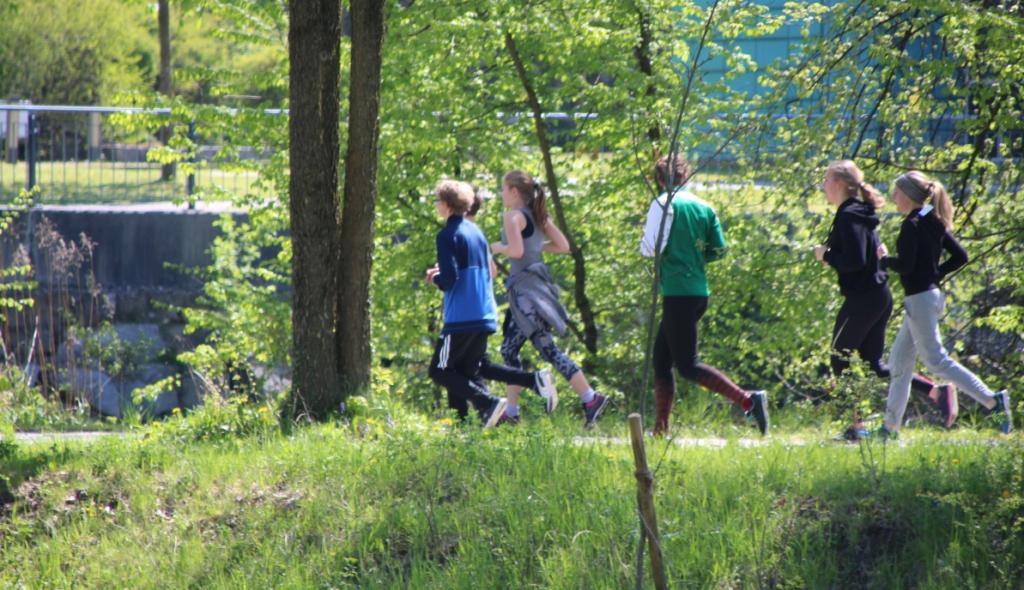 Jugendrat organisierte Lauf für Licht