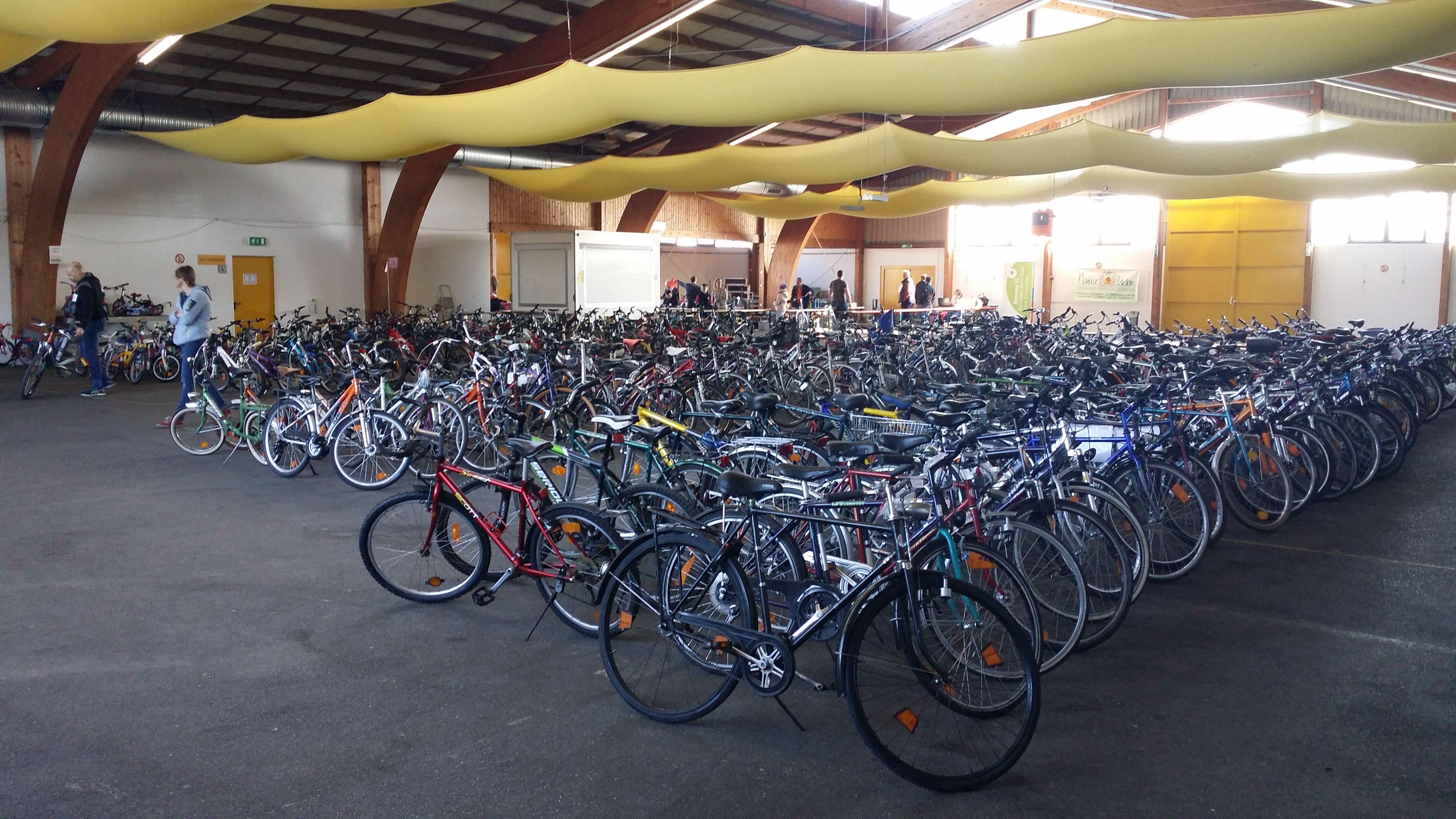 6. Fahrradbasar in der Festhalle Braunau!