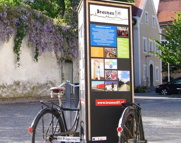 Braunau 21 – Zukunftsfoyer mit Stadtspaziergang