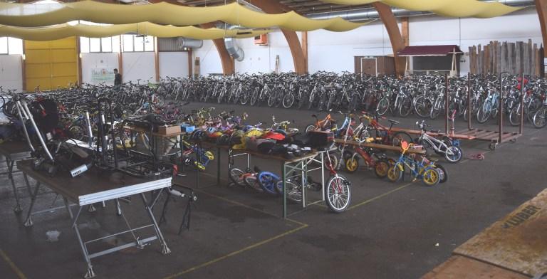 9. Fahrradbasar in der Markthalle Braunau